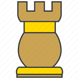 castle, challenge, chess, competition, game, strategy, tactics icon