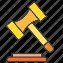 bid, gavel, hammer, judge, judgment, law, legal