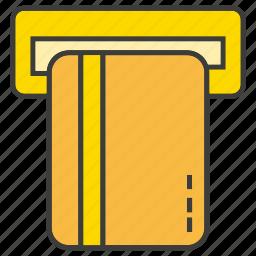 atm, card, creditcard, finance, money, money machine, payment icon
