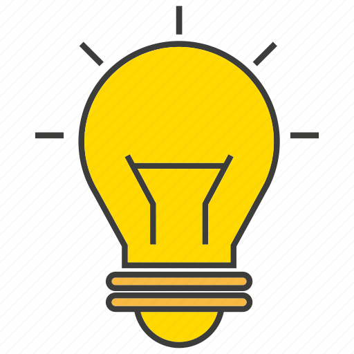 bulb, creative, idea, light, light bulb, mind, think icon