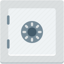 bank locker, bank safe, bank vault, locker, safe box icon