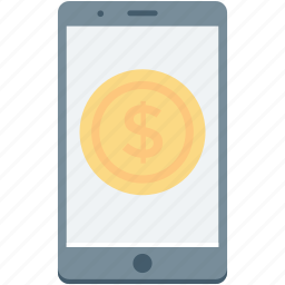 banking app, m commerce, mobile banking, online banking icon