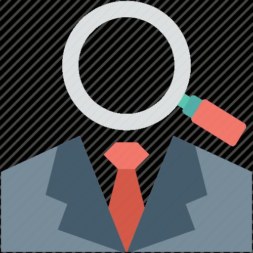 find person, magnifier, search investor, search male, search person icon