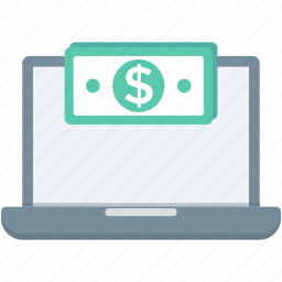 banking, e commerce, money, online payment, pay online icon