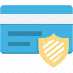 credit card, protection, security icon