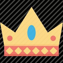 crown, emperor, headgear, nobility, royal icon