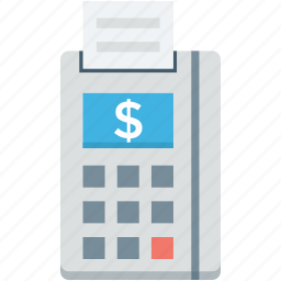 cash register, cash till, invoice machine, point of sale, pos, till supplier icon