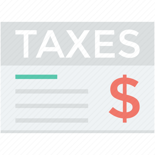 business taxes, commerce, tax document, tax return, taxes icon