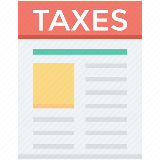 business taxes, tax document, tax return, taxes, taxes report icon