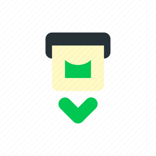 bank, business, e commerce, finance, money, withdrawal icon