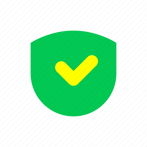 bank, business, e commerce, finance, security, shield, trusted icon
