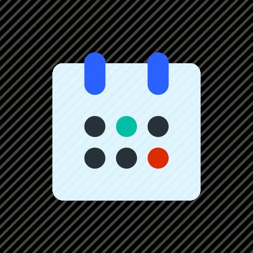 business, calendar, e commerce, finance, time icon