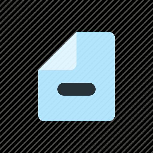 business, document, e commerce, finance icon
