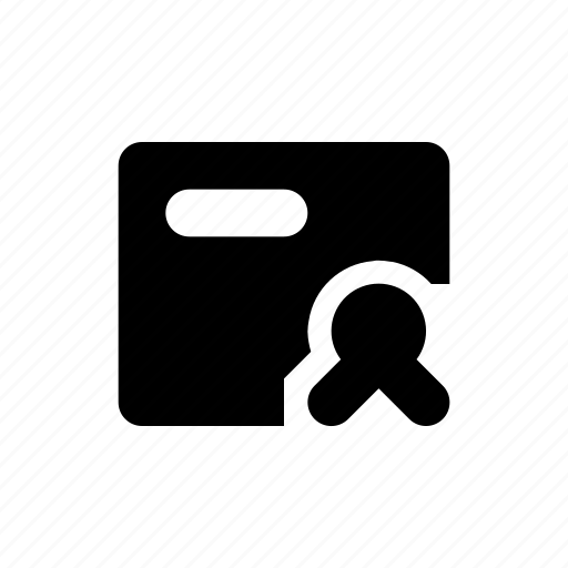 bank, business, bw, certificate, e commerce, filled, finance icon