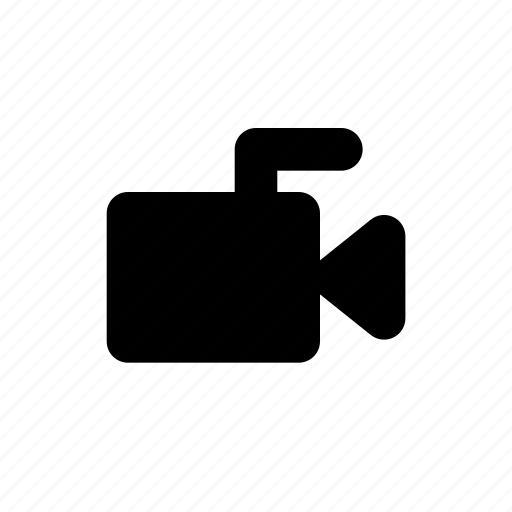 bank, business, bw, e commerce, filled, finance, video icon