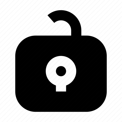 cash, exchequer, finance, money, protect, unlock icon