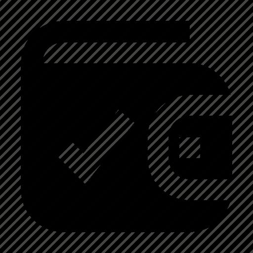 Cash, check, exchequer, finance, money, wallet icon - Download on Iconfinder