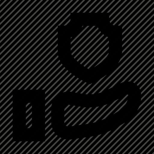 cash, exchequer, finance, insurer, money, protection icon