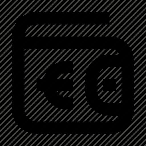 Cash, euro, exchequer, finance, money, wallet icon - Download on Iconfinder