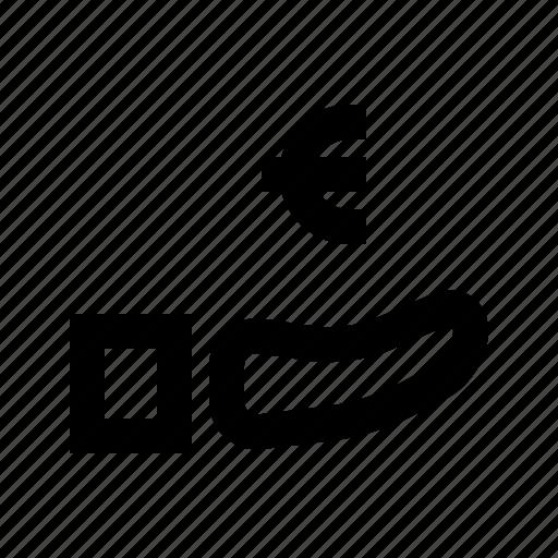 Cash, euro, exchequer, finance, money, revenue icon - Download on Iconfinder