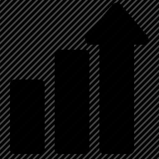 analytics, bar, chart, graph, growth, stats icon