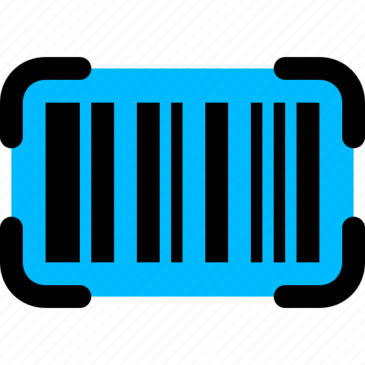 barcode, code icon