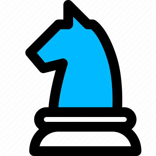 business, chess, knight, mission, strategy icon