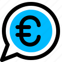 euro, money, payment icon
