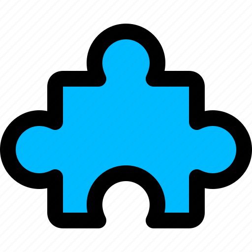 jigsaw, puzzle, solutions, strategy icon