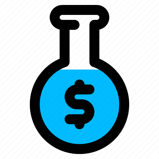 analysis, business, experiment, research icon