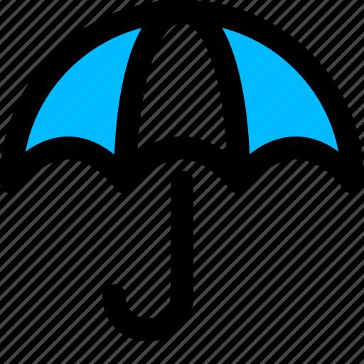 finance, insurance, protection, umbrella icon