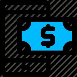banking, mobile, money, transaction icon
