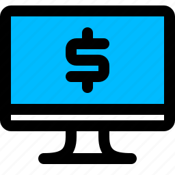 banking, internet, online icon