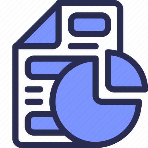 business, chart, document, file, finance, report, statistic icon