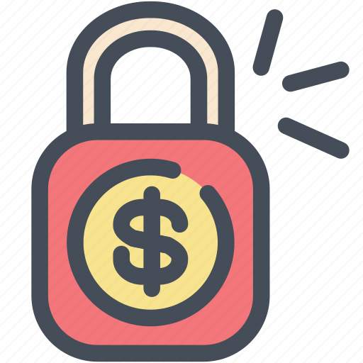 lock, money, safe, secure, security icon