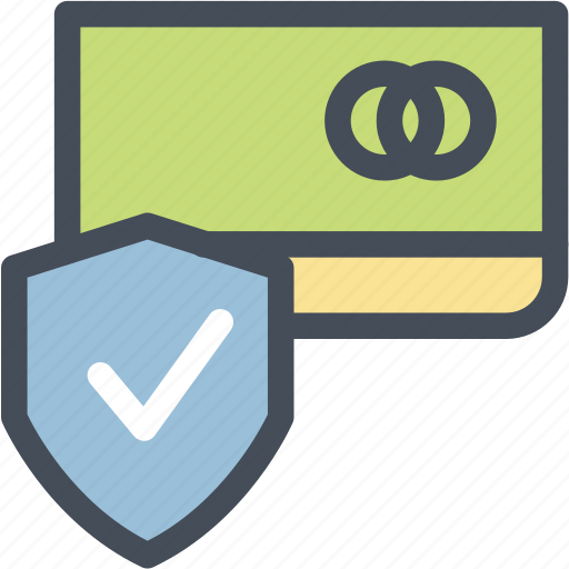card, check, credit, payment, security icon