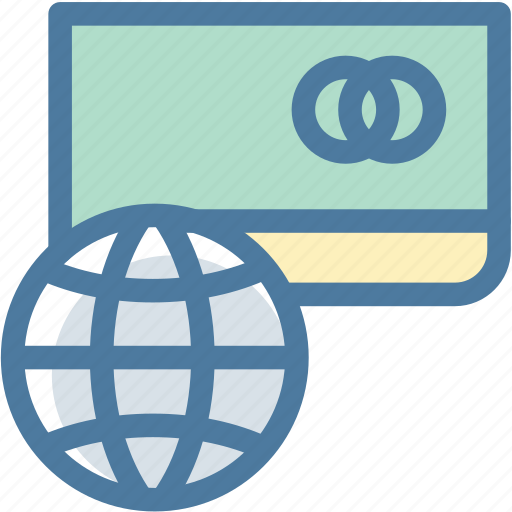 card, check, credit, international, payment, security icon