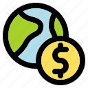 world, dollar, money, finance, cash, business