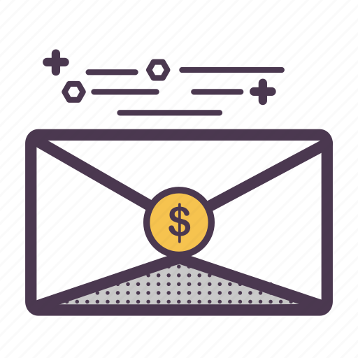 finance, mail, message, order, responsibility, send, support icon