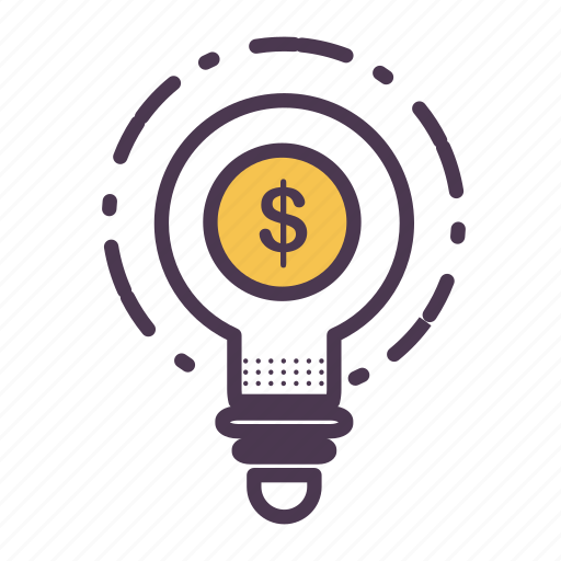 business, creative, finance, idea, marketing, money, think icon