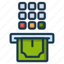 atm, cash, withdraw icon