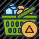 basket, cart, checkout, shop, shopping icon