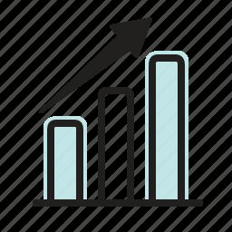 graph, growth, marketing, sales, statistics icon