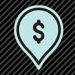 bank, cash, finance, invest, money, profit icon
