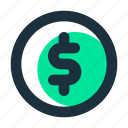 cash, coin, currency, dollar, finance, money, payment