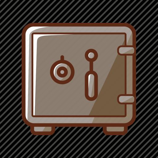 bank, finance, loan, money, safe, save icon