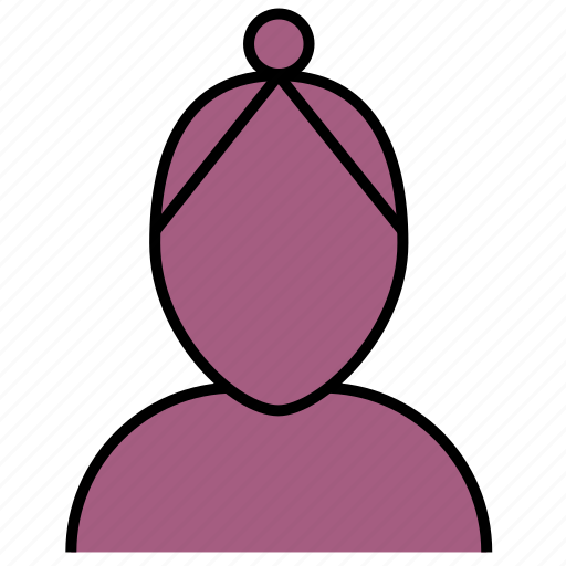 avatar, client, female, member, person, user, woman icon