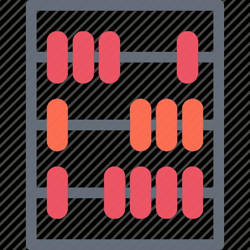 abacus, business, economy, finance, money icon