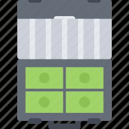 business, case, economy, finance, money icon