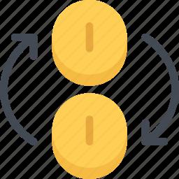business, currency, economy, exchange, finance, money icon